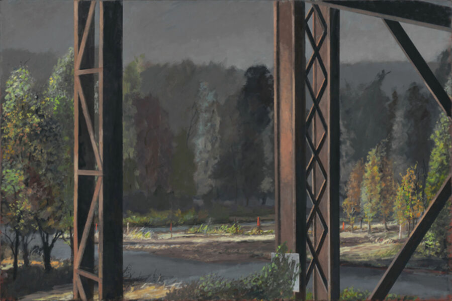 Norman Lundin, 'FROM THE RAILWAY TRESTLE', 2019