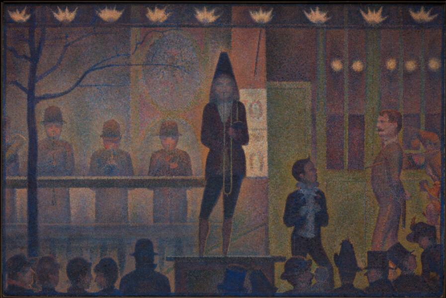 Georges Seurat, 'Circus Sideshow (Parade de cirque)', 1887–1888