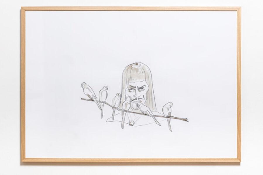 Pál Gerber, 'Ungrateful Role', 1996