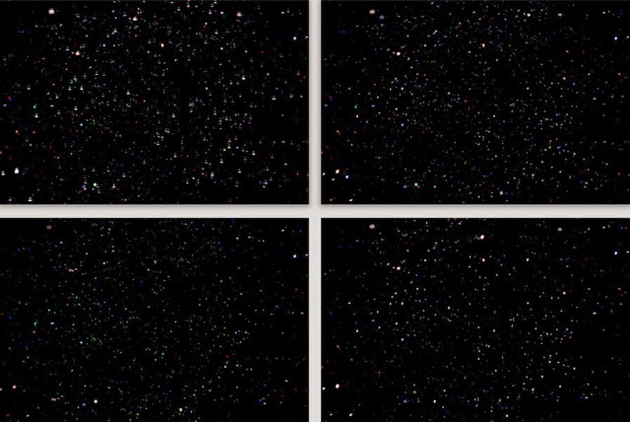 Albano Afonso, 'da série Constelações [from the series Constellations] nº IV, V, VI e VII', 2020