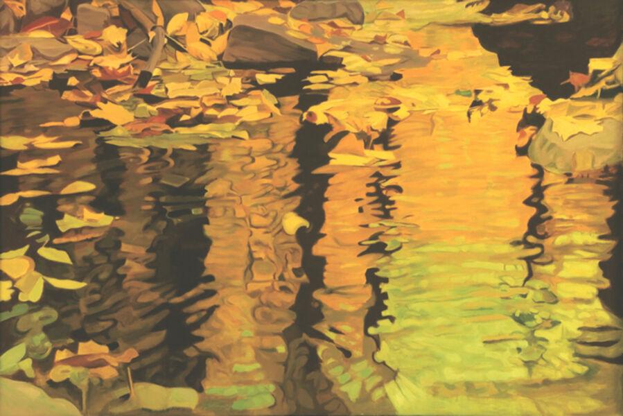 Ralph Wickiser, 'Yellow Reflection', 1981