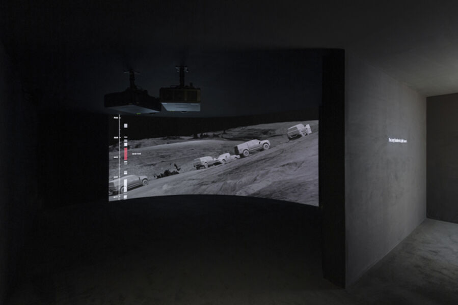 FORENSIC ARCHITECTURE, 'The Long Duration of a Split Second consisting of two projetcts: Killing in Umm al-Hiran January 18, 2019, Negev/Naqab, Israel/Palestine, Investigation', 2017