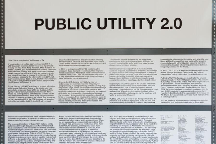 Mary Ellen Carroll, 'Preparations for Public Utility 2.0', 2014