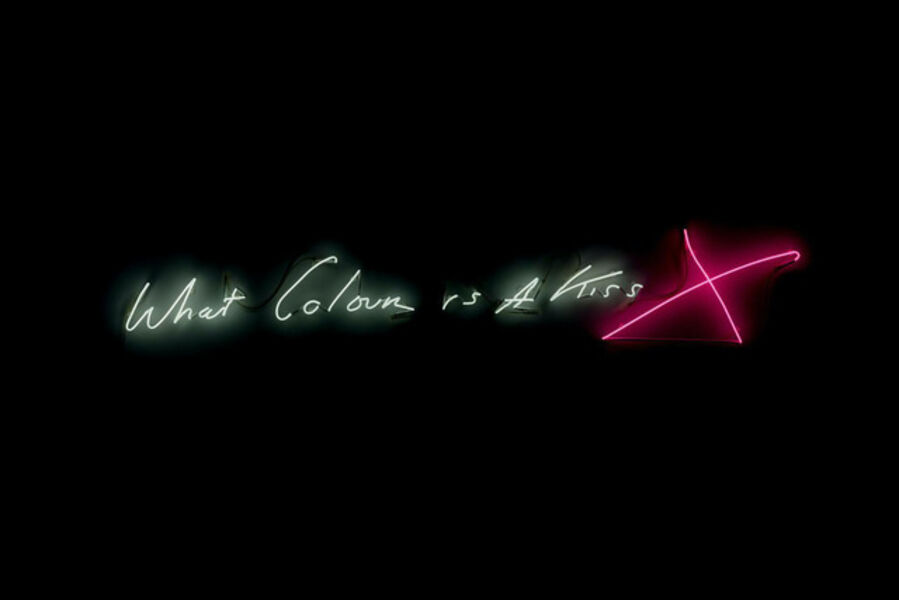 Tracey Emin, 'What Colour is a Kiss X', 2015