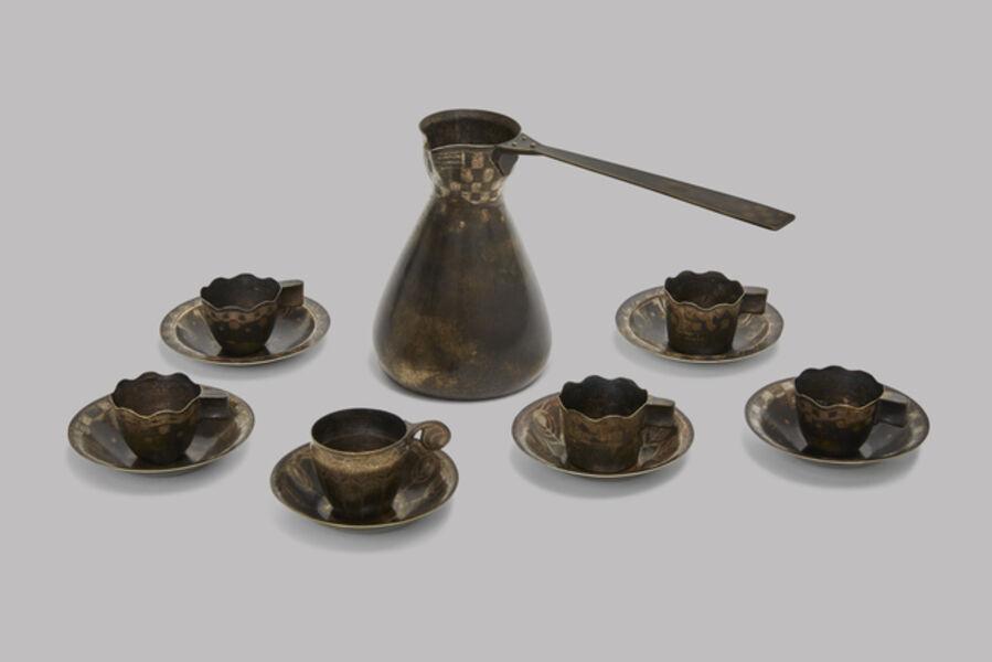 Jean Dunand, 'Turkish Coffee Set', ca. 1912