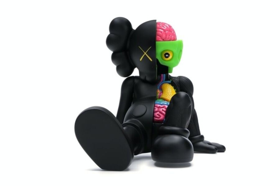 KAWS, 'Resting Place Vinyl Figure Black', 2012