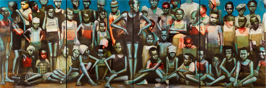 Charlotta Janssen, 'Harlem Swimming Team 1927', 2015