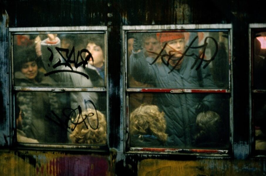 Frank Horvat, 'Subway at rush-hour, New York', 1982