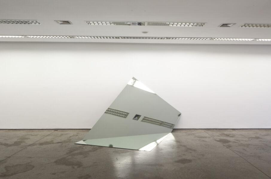Iran do Espírito Santo, 'Untitled (Folded Mirror) 2', 2011