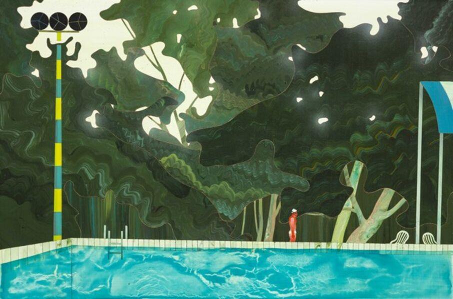 Yang-Tsung Fan, 'Swimming Pool Series-Backlights', 2015