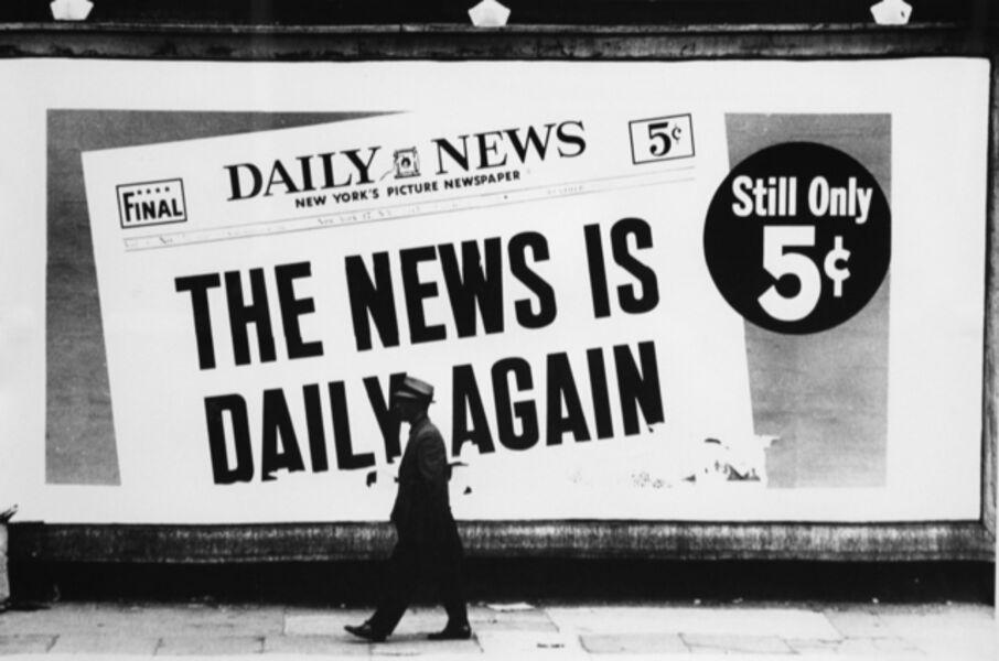 Dennis Hopper, 'Daily News', 1963