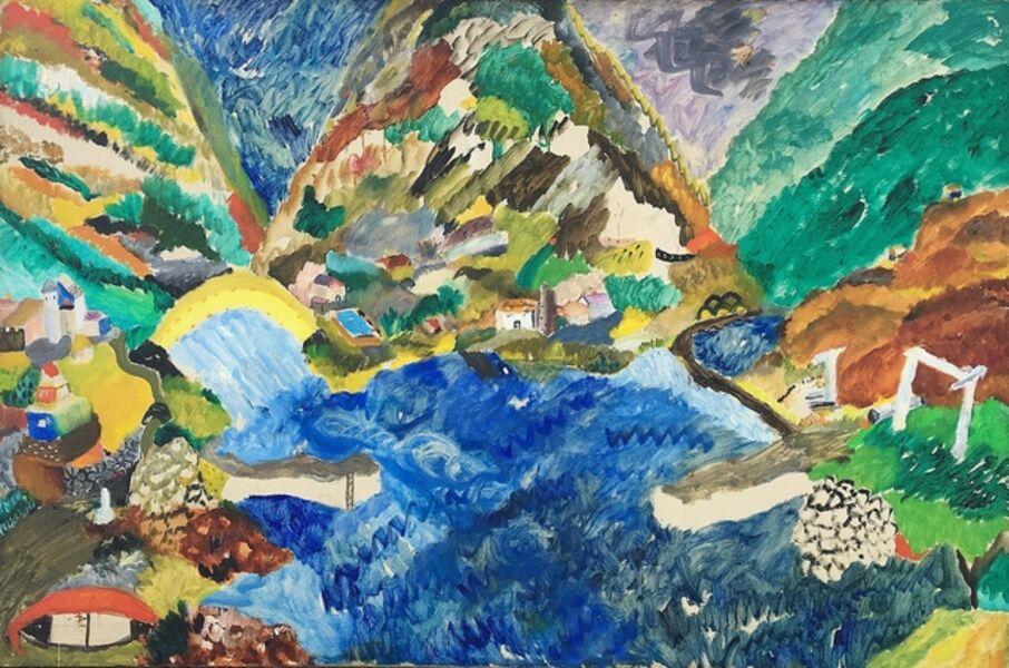 Aristodimos Kaldis, 'Pan-Hellenic #2', 1950