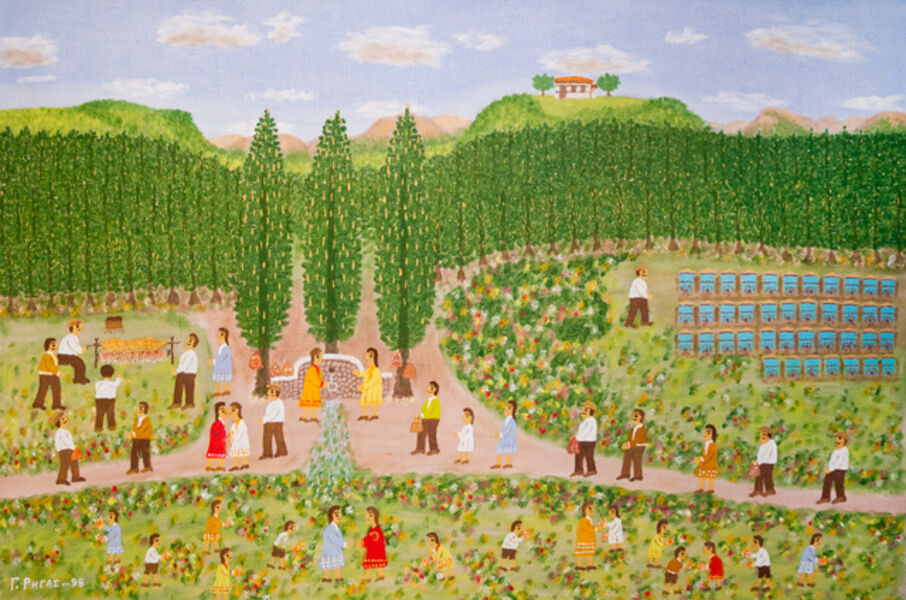 Giorgos Rigas, 'Early Spring Celebration', 1998