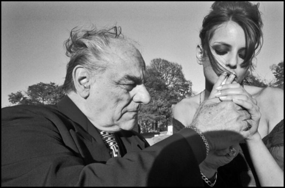 Bruce Gilden, 'Mafia Funeral. Fashion Shoot, Queens, New York, ', 2005