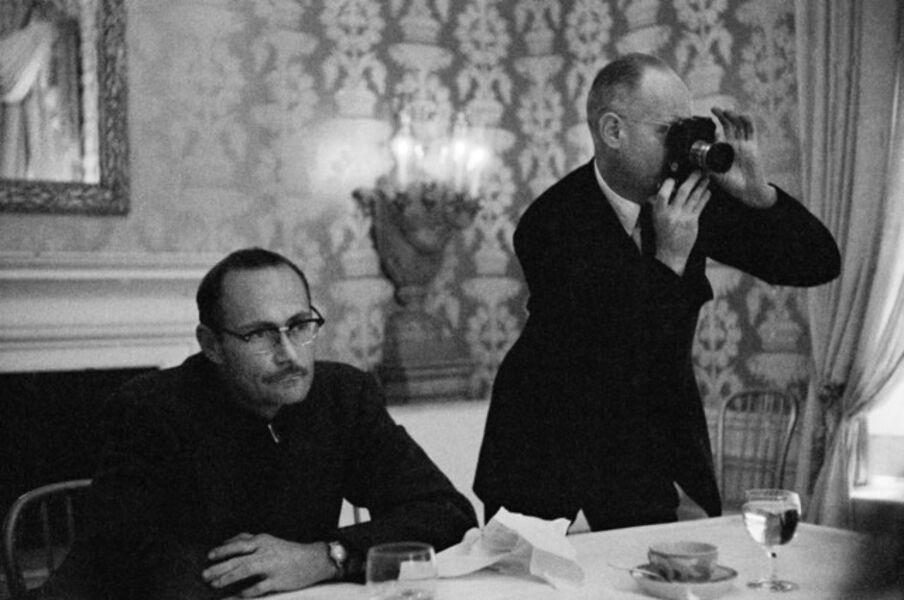 René Burri, 'W. Eugene Smith and Henri Cartier-Bresson. '