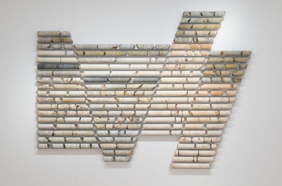 Carlos Irijalba, 'Pannotia. Corte interpretativo I', 2018
