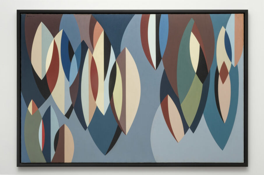 Karl Benjamin, 'Elliptical Planes', 1956
