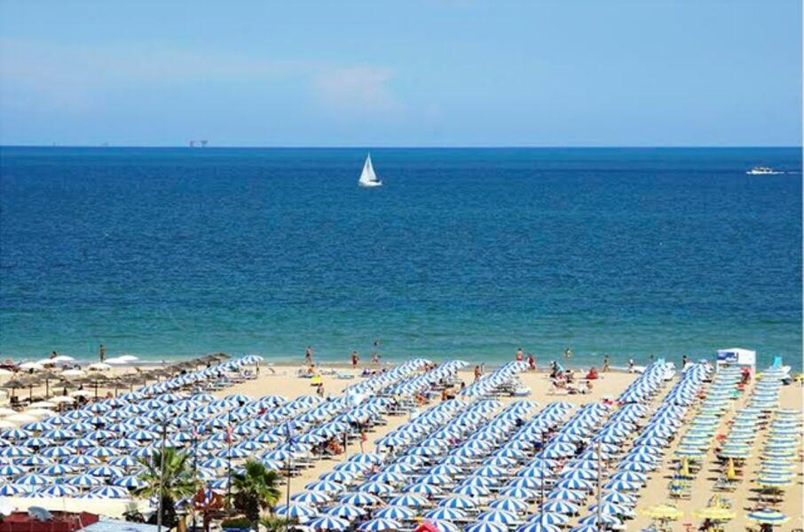 DJ Leon, 'Beach Umbrellas, Rimini', 2016