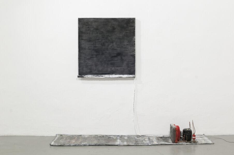 Pier Paolo Calzolari, 'Untitled (black salt)', 1986
