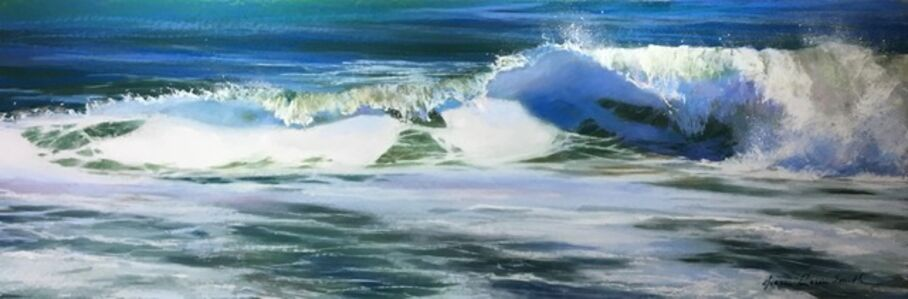 Jeanne Rosier Smith, 'Ocean Blue'