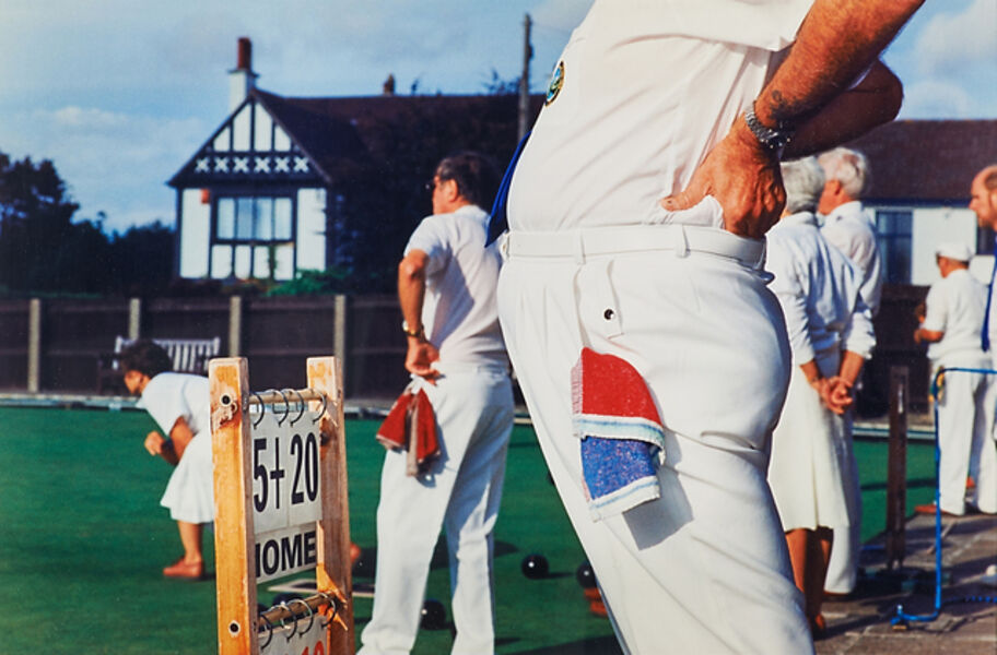 Martin Parr, 'Bowling Bristol from Think of England', 1999