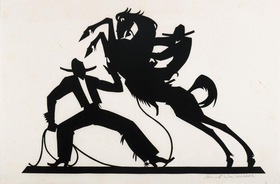 Wilhelm Hunt Diederich, 'Two Cowboys ', Undated