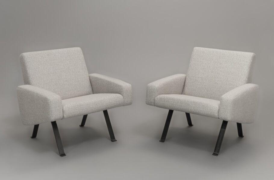 Joseph-André Motte, 'Pair of armchairs 740', 1957-1958