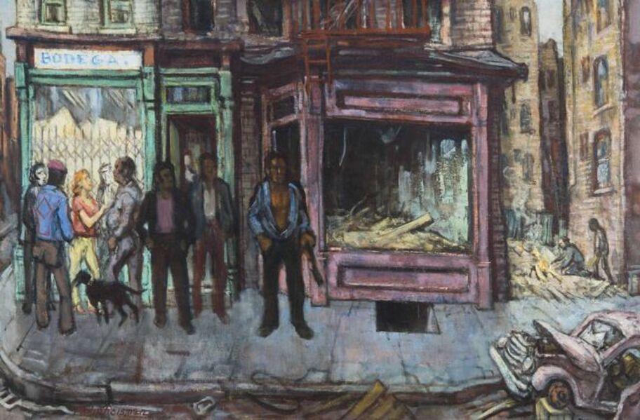 Philip Reisman, 'Avenue B', 1977