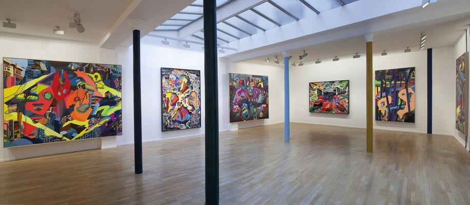 """""""Franz Ackermann: New Work"""", installation view"""