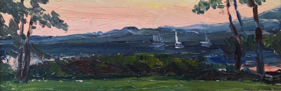 Nelson White, 'Evening West Neck Creek', 2015