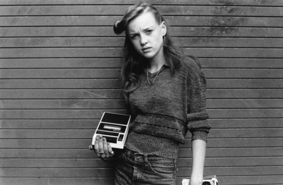 Al Vandenberg, 'Girl with Cassette Recorder', 1975