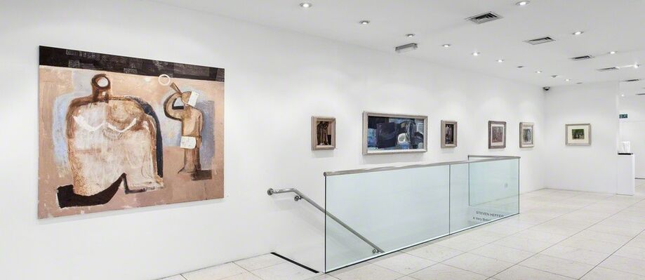 A Sculptor in Paint, installation view