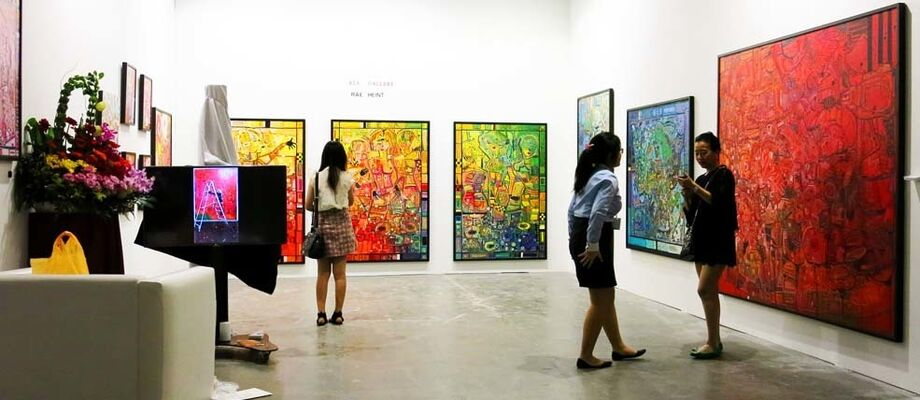 RLS Gallery at Art Stage Singapore 2016, installation view