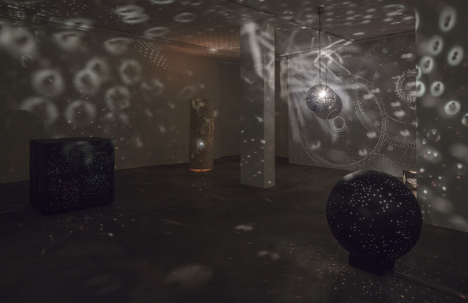 Otto Piene, 'Lightroom with Mönchengladbach Wall', 1963