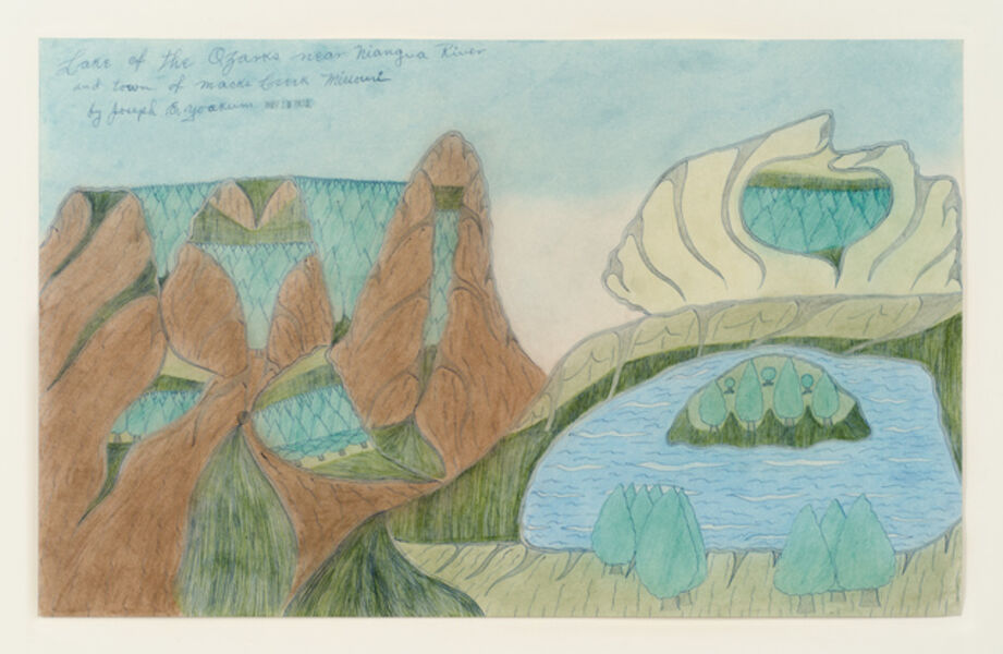 Joseph Yoakum, 'Lake of the Ozarks', 1970