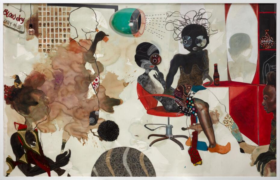 Ndidi Emefiele, 'Blow dry salon', 2018