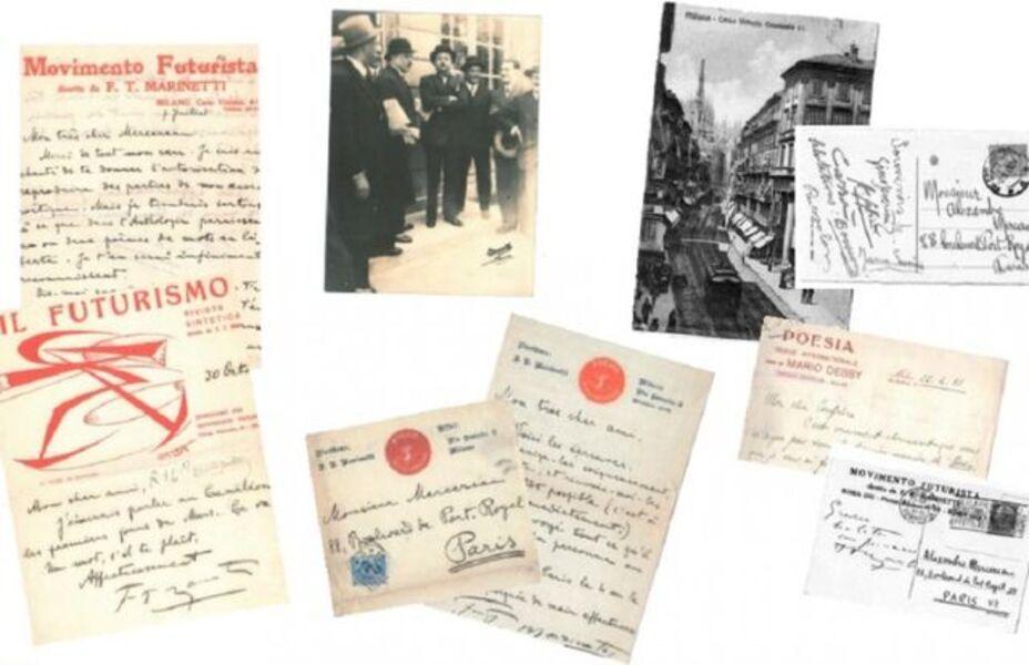 Filippo Tommaso Marinetti, 'Futurist Correspondence', 1908-1931