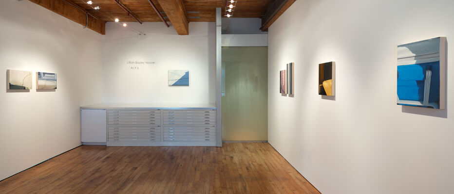 Lillian Bayley Hoover: As It Is, installation view