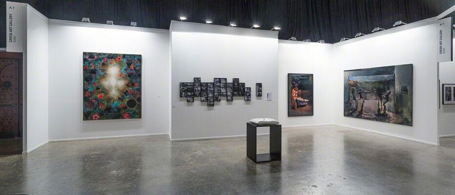 Green Art Gallery at Art Dubai 2013, installation view