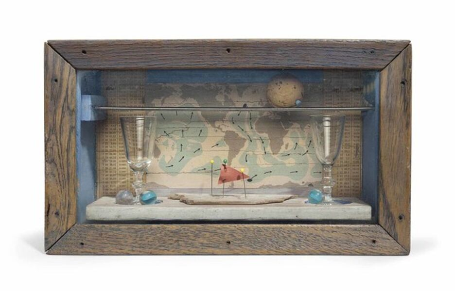 Joseph Cornell, 'Trade Winds', ca. 1958