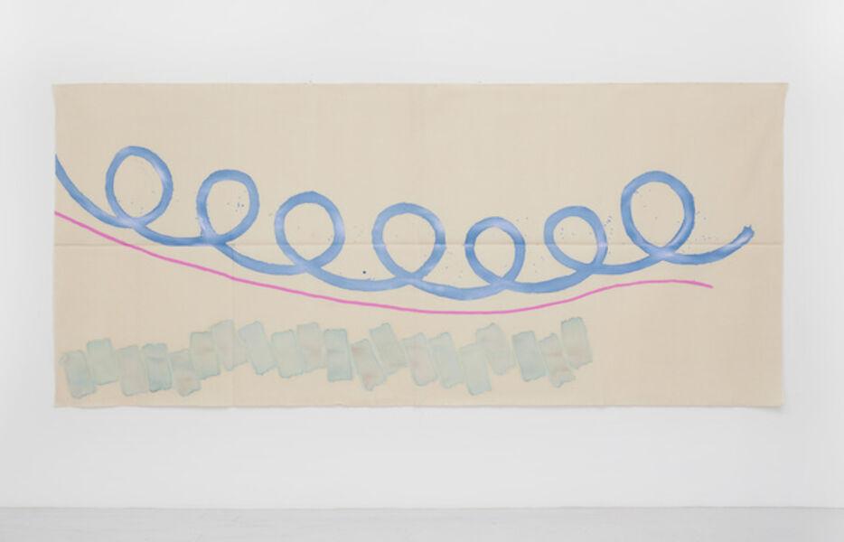 Giorgio Griffa, 'Grande arabesco', 2020