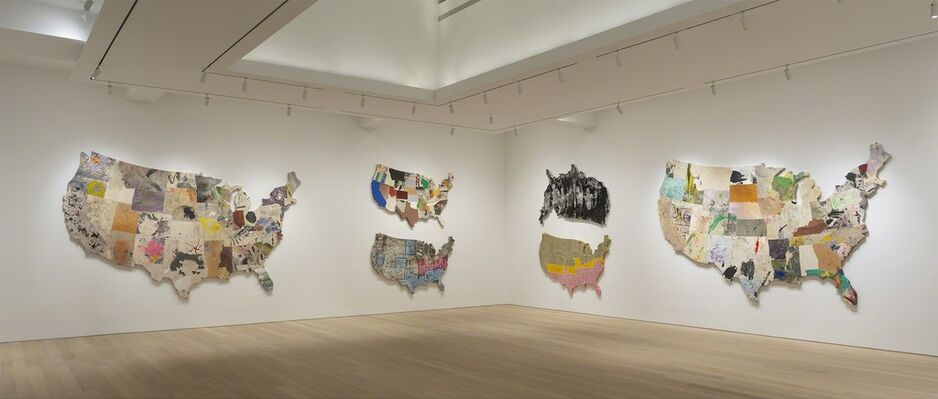 Nate Lowman: Never Remember, installation view