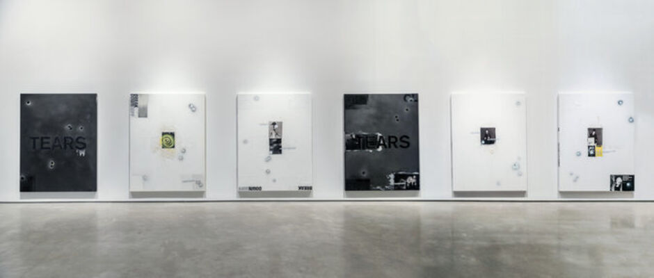 "Mark Verabioff - ""TEARS"", installation view"