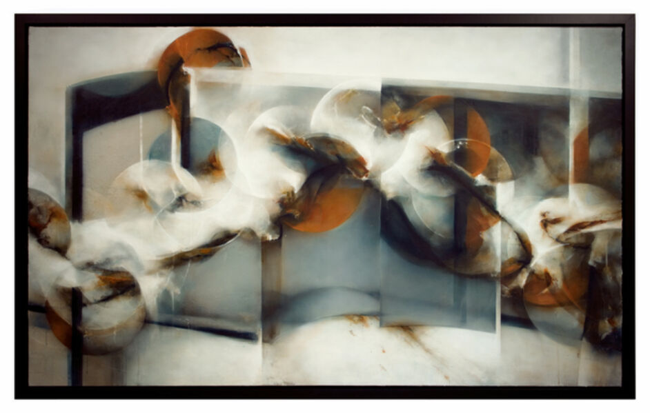 David Mellen, 'Large Abstract Oil Painting: 'Memories of Cruelty'', 2014