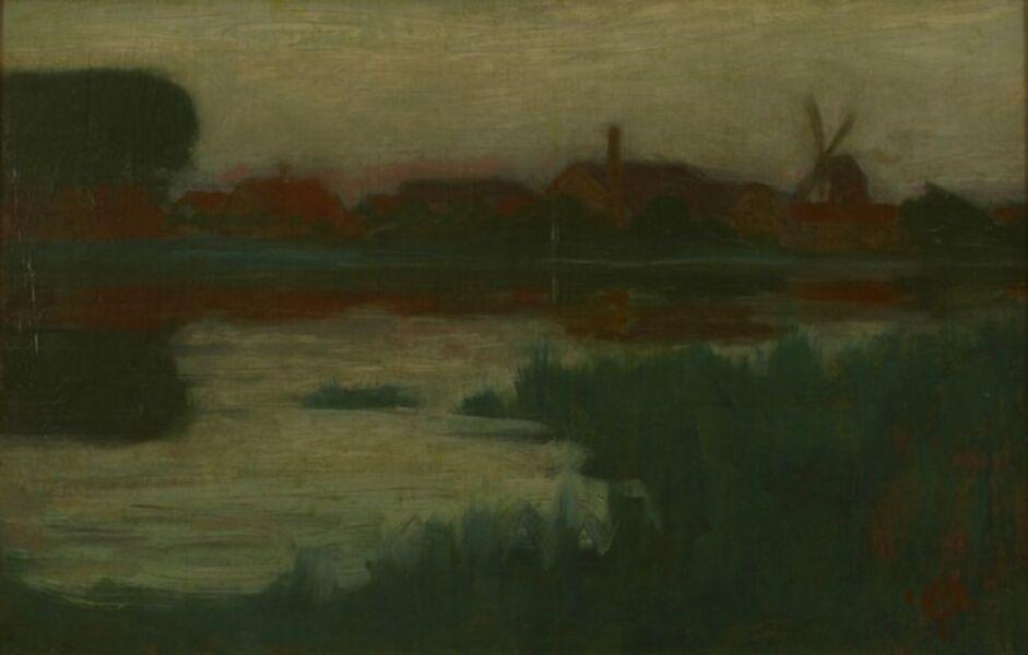 Hermann Dudley Murphy, 'Dutch Nocturne', ca. 1900