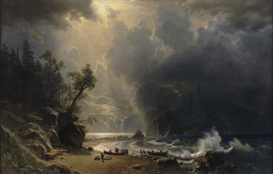 Albert Bierstadt, 'Puget Sound on the Pacific Coast', 1870