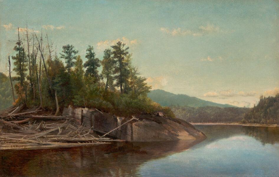 Alexander Helwig Wyant, 'Lake Scene'