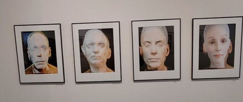 David Weinberg - Face to Face, installation view