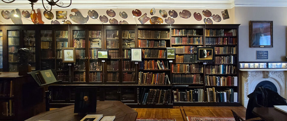Salmagundi Library Committee Artist Member Exhibition & Sale, installation view