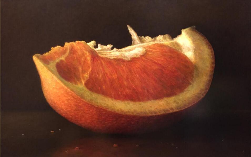 James Del Grosso, 'Orange Slice'